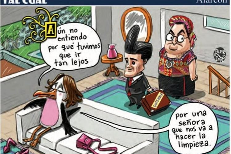 Caricaturistas de México señalan al Gobierno guatemalteco de reprimir la libre expresión