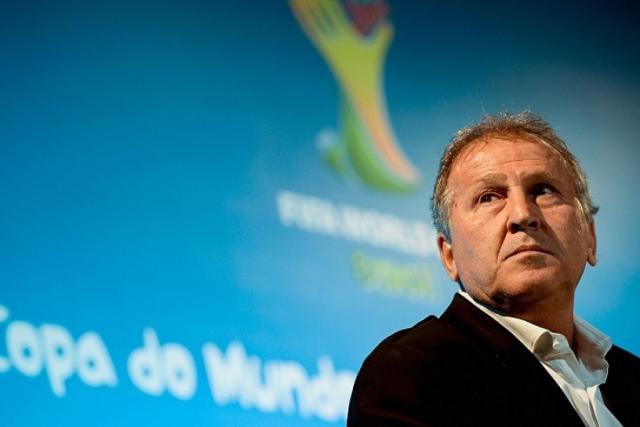 Zico tiene aspiraciones para la presidencia de FIFA. (Foto Prensa Libre: AFP)