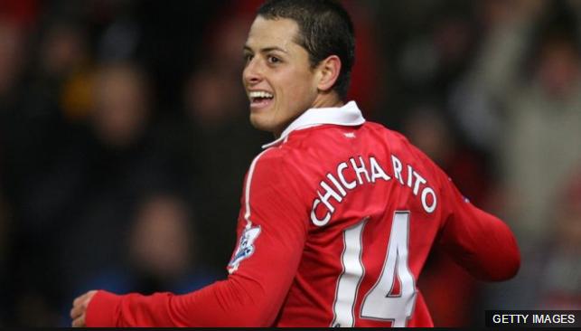 Chicharito no pudo consolidarse en el equipo titular del Manchester United, pero fue uno de los jugadores más queridos de los aficionados.
