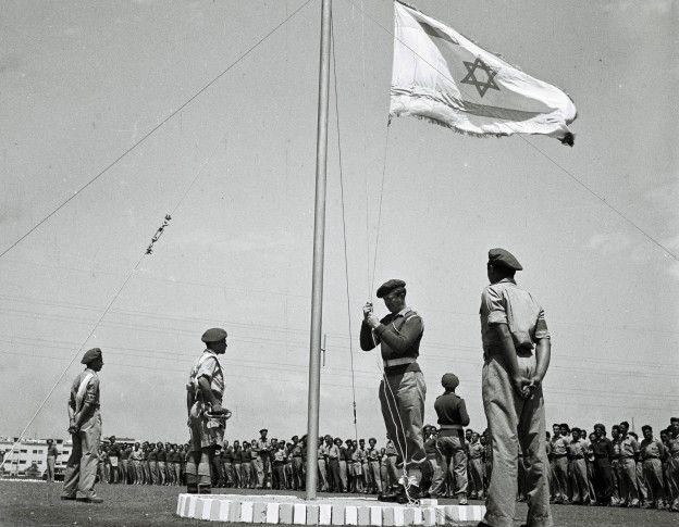 El Estado de Israel se constituyó oficialmente el 14 de mayo de 1948. HULTON ARCHIVE