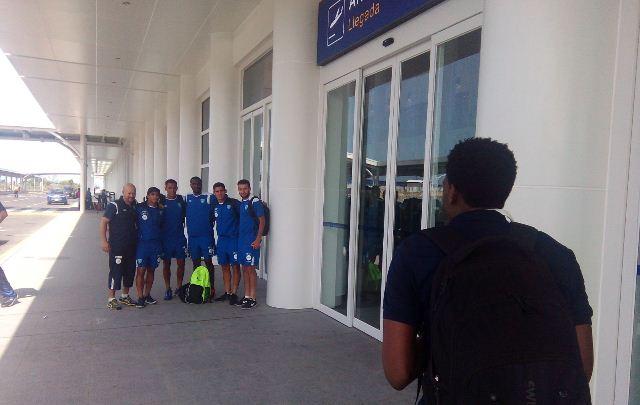 Los seleccionados están motivados para conseguir el triunfo de visita. (Foto Prensa Libre: Cortesía CDG)