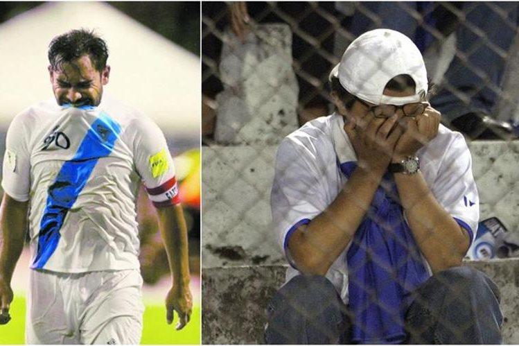 Jugadores, exjugadores y aficionados han mostrado durante este año su frustración por la situación de la Selección Nacional. (Foto Prensa Libre: Hemeroteca PL)