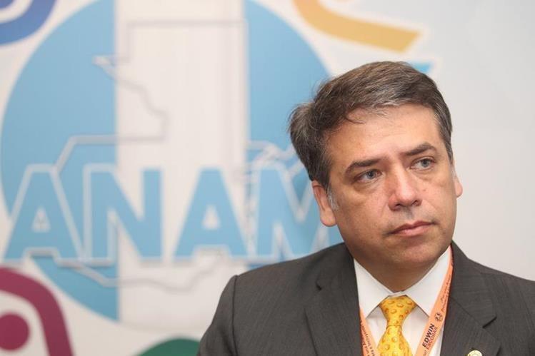 Edwin Escobar, alcalde de Villa Nueva y presidente de la Anam. (Foto Prensa Libre: Hemeroteca PL)
