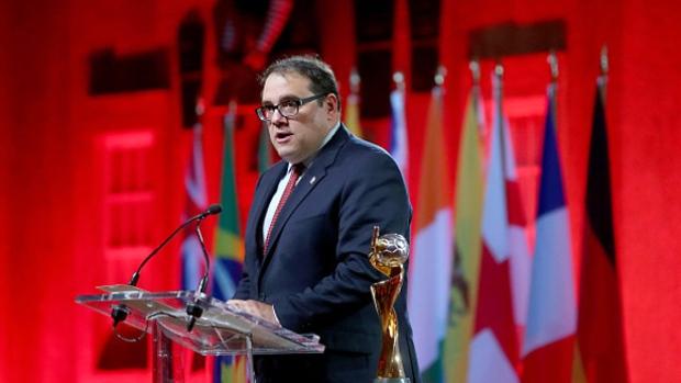 El canadiense Víctor Montagliani es el principal candidato para buscar la presidencia de la Concacaf. (Foto Prensa Libre: Internet).