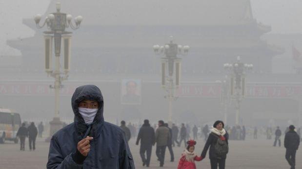 La contaminación del aire causa 6.5 millones de muertes cada año en el mundo.(AP).