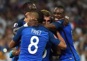 Griezmann marcó de penalti y otro gol para darle el boleto a la final a Eurocopa 2016. (Foto Prensa Libre: AFP)