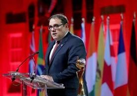 Victor Montagliani, presidente de la Concacaf, ve como opción compartir la sede del Mundial 2026. (Foto Hemeroteca PL).