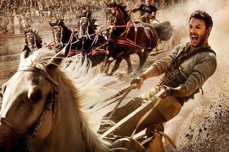 El remake de Ben-Hur llega a la pantalla de cine nacional. (Foto Prensa Libre: Paramount Picture)