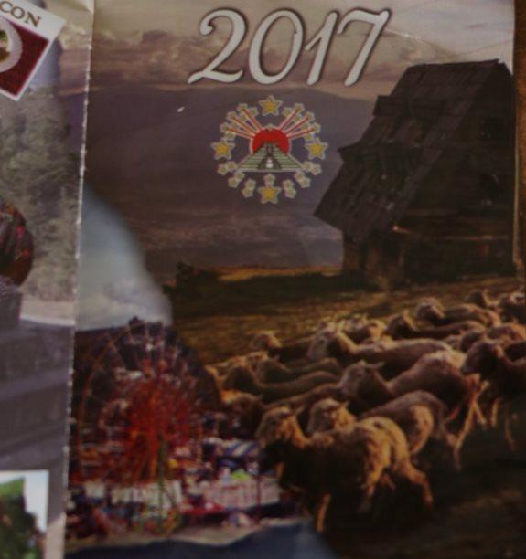 La imágen de las ovejas en Los Cuchumatanes pertenece al fotógrafo Armando Seb y fue utilizada sin autorización por la Municipalidad de Huehuetenango.(Foto Prensa Libre: Mike Castillo)