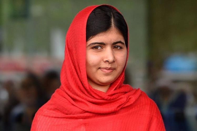 Malala Yousafzai, Premio Nobel de la Paz 2014. (Foto Prensa Libre: AFP).