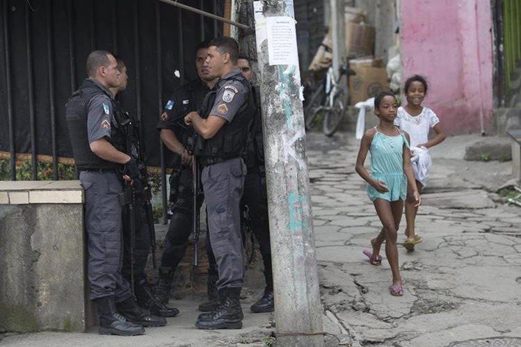 Sao Paulo, Minas Gerais y el Distrito Federal de Brasilia fueron los Estados que más recursos destinaron a combatir la criminalidad.(Foto Prensa Libre: AP).