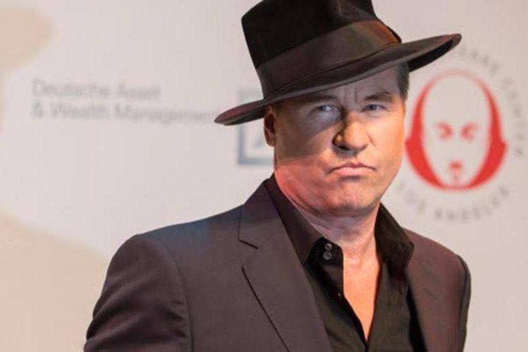 El actor Val Kilmer tiene problemas para hablar. (Foto Prensa Libre: AP)