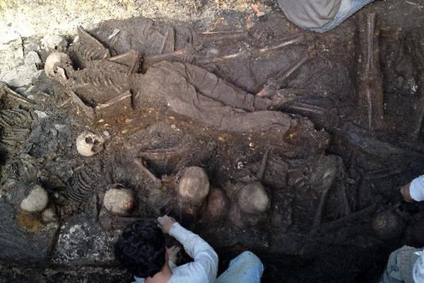 Localizan restos de víctimas de la represión.
