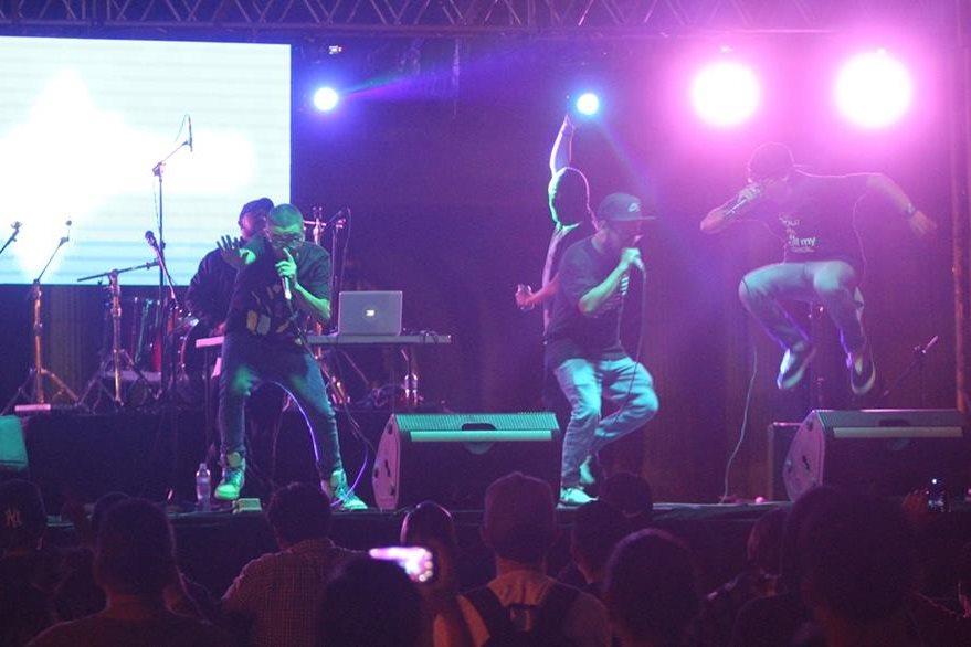 Durante sus conciertos derrochan energía en el escenario. (Foto Prensa Libre: Keneth Cruz)