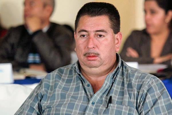 Delmar Gálvez de León, alcalde de Cuilco, Huehuetenango. (Foto Prensa Libre: Mike Castillo)