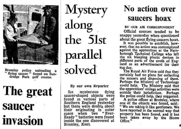 Las dudas respecto a los platillos surgieron después de que se encontraron baterías en uno de ellos. THE TIMES NEWS SYNDICATION / GUARDIAN NEWS & MEDIA