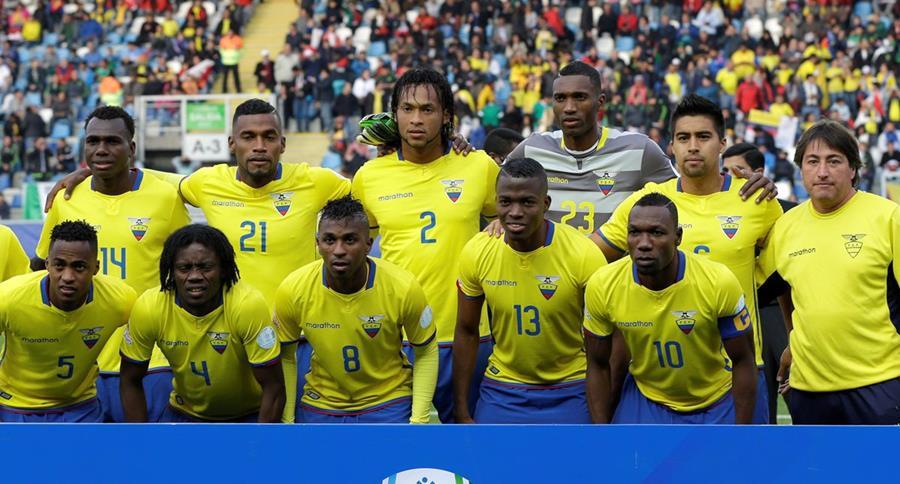 Ecuador basa su poderío futbolístico en el buen funcionamiento colectivo. (Foto Prensa Libre: AFP).