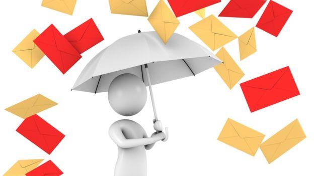 ¿Lluvia de correos? ¡Haz algo! (Getty Images)