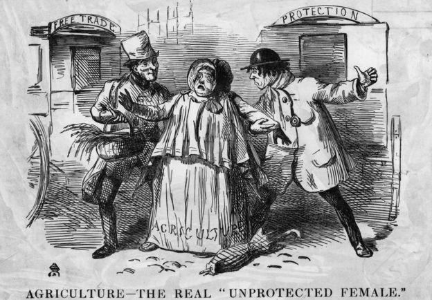 La controversia sobre el libre comercio lleva siglos. GETTY IMAGES