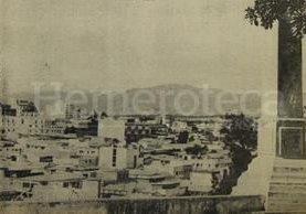 Panorámica de la ciudad de Guatemala desde el Cerrito del Carmen en el año 1976. (Foto: Hemeroteca PL)