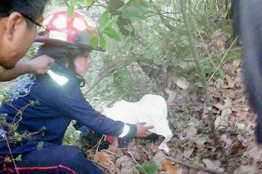 Los cuerpos de la mujer y su hija estaban semienterrados en una zona montañosa de San Juan Argueta, Sololá. (Foto Prensa Libre: Hemeroteca PL).