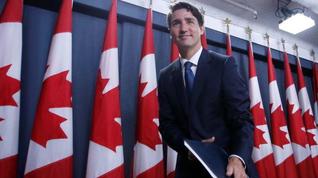 La llegada del primer ministro Justin Trudeau al poder ha ayudado a aumentar la visibilidad de Canadá en el escenario internacional. REUTERS
