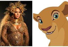 Beyoncé podría dar voz al personaje de Nala en la nueva versión de la historia de Disney El Rey León. (Foto Prensa Libre: Hemeroteca PL)