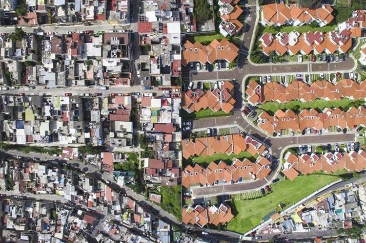 Santa Fe, Ciudad de México. JOHNNY MILLER/MILLEFOTO