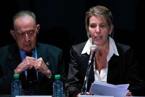 Sandra Arroyo, exesposa del fallecido Alberto Nisman, habla sobre el trabajado en la autopsia de Nisman