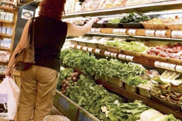 Los vegetales mostraron importantes alzas.