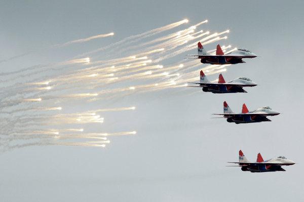 Rusia entregó a las Fuerzas Armadas sirias al menos cinco aviones de combate, aviones de reconocimiento.