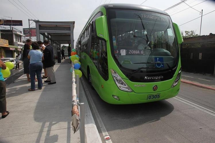 El servicio de Transmetro será irregular durante Semana Santa, debido a cortejos procesionales. (Foto HemerotecaPL)