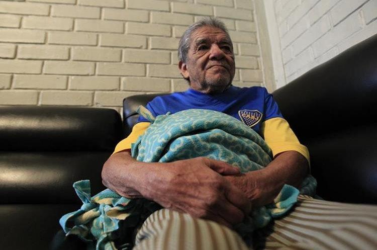 José Luis Chamalé, de 98 años.(Prensa Libre: Carlos Ovalle)