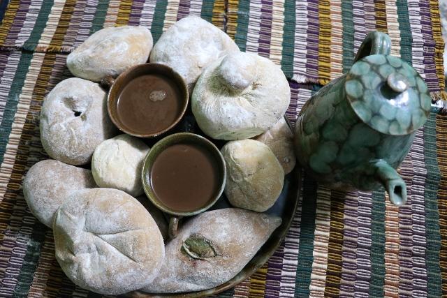 Las shecas, pan representativo de Quetzaltenango, son una delicia para guatemalteco y extranjeros. (Foto Prensa Libre: María José Longo)