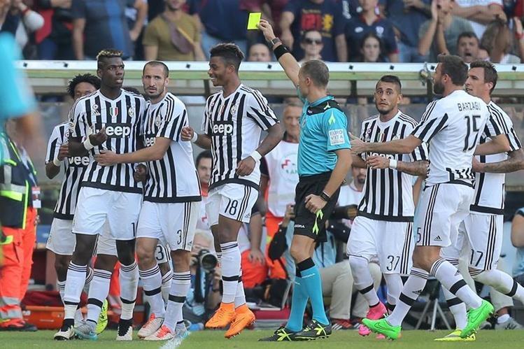 La Juventus puso fin a su mala racha en la Serie A. (Foto Prensa Libre: AFP)