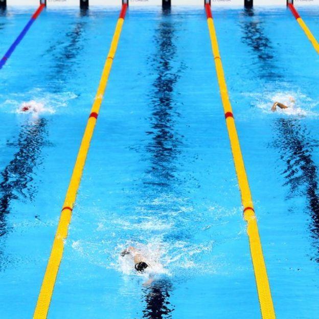 Ledecky arrasó en la final de los 800 metros libres, la primera de las tres medallas que ganó en Río 2016. (Getty Images)