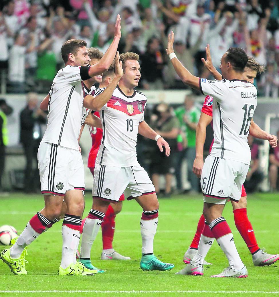 Mario Goetze no fue incluido en el grupo de seleccionados alemanes. (Foto Prensa Libre: Hemeroteca PL)