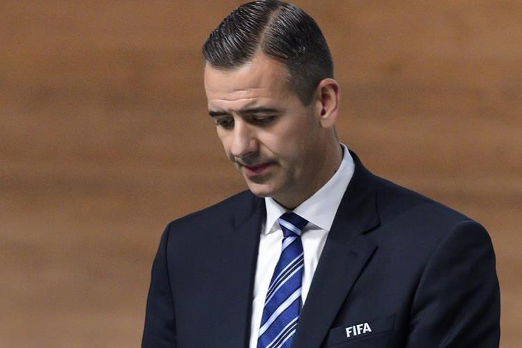 El alemán Markus Kattner fue suspendido como director de finanzas de Fifa. (Foto Prensa Libre: AFP).