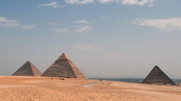 La Gran Pirámide de Giza fue la edificación humana más alta del mundo durante unos 3.500 años. AFP