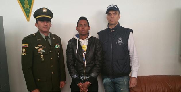 """DJ """"Féxter"""" capturado en Italia. (Foto Prensa Libre: El Heraldo.co)"""