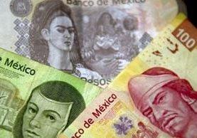 La moneda mexicana es la que más ha perdido valor en el último trimestre. ¿Por qué? AFP