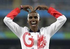 Mo Farah, atleta nacido en Somalia, es afectado por prohibición de Trump. (Foto Prensa Libre: Hemerotoca PL)