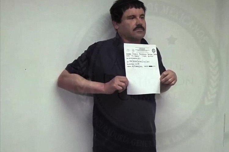Joaquín, el Chapo Guzmán, guarda prisión en Ciudad Juárez, México. (Foto Prensa Libre: AFP).