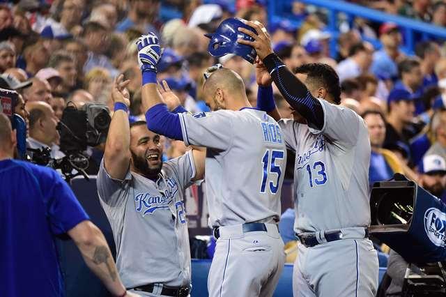 Los Reales aumentan su ventaja en la serie contra Toronto. (Foto Prensa Libre: AFP)