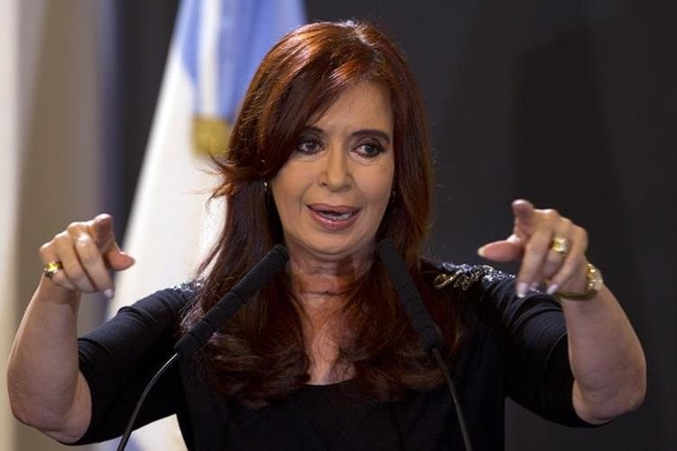 Crisitna Fernández , expresidenta de Argentina. (AP).