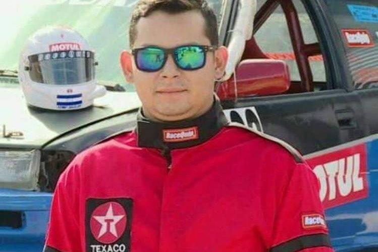 El corredor de autos, originario de Siguatepeque, era campeón de la categoría Súper Street A. (Foto Prensa Libre: Cortesía Diario El Heraldo).