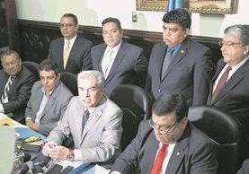 El Ministerio Público ratificó la denuncia contra los exdiputados de la Junta Directiva 2014-2015, por plazas fantasma. (Foto Prensa Libre: Hemeroteca PL)