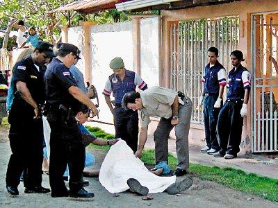 El 55% de los homicidios están ligados al crimen organizado en Costa Rica.