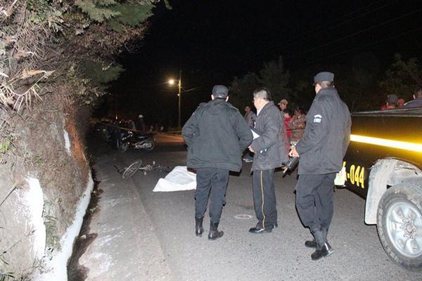 """<p>El ataque armado fue en la periferia de la ciudad de Jalapa, cerca de la vivienda de la víctima. (Foto Prensa Libre: Hugo Oliva)<br _mce_bogus=""""1""""></p>"""