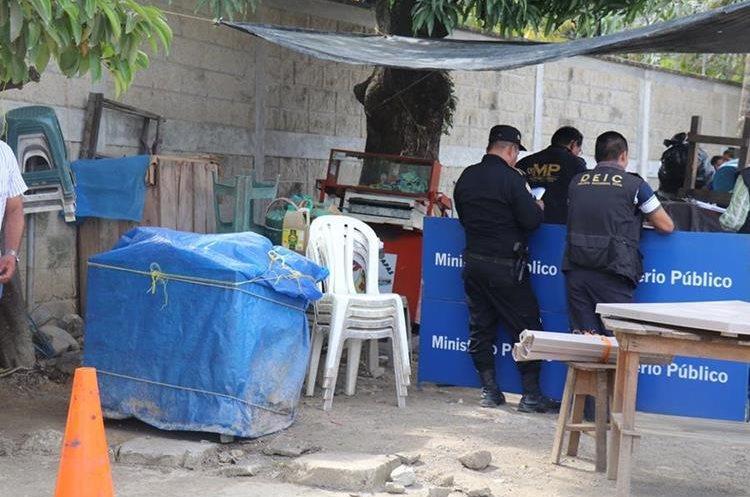 Mary Arcely Villeda Javier, de 24 años, vendía comida frente al IGSS. (Foto Prensa Libre. Dony Stewart)